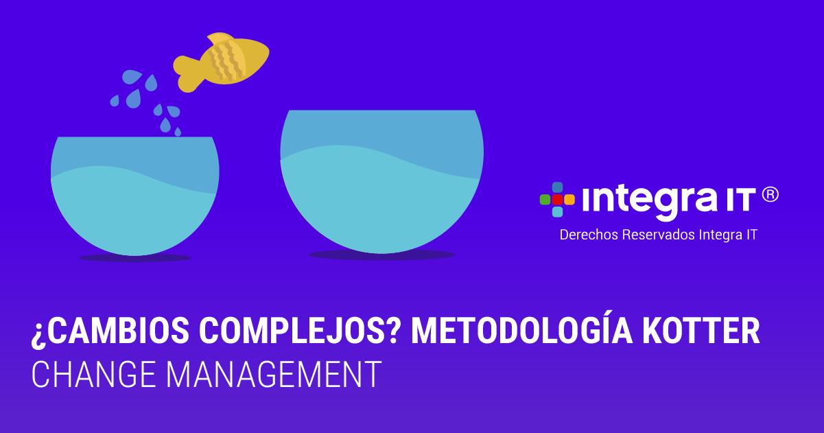 Metodología Kotter en 8 pasos para Change Management