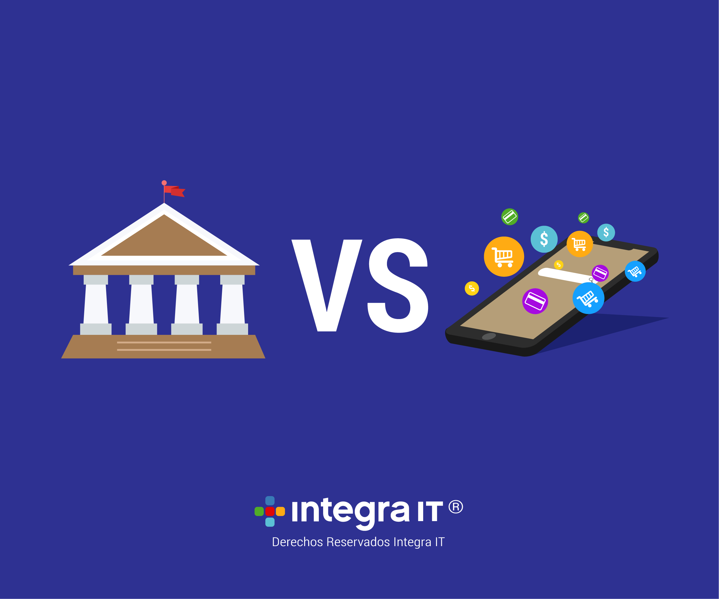 Fintech vs banca tradicional en el mundo digital